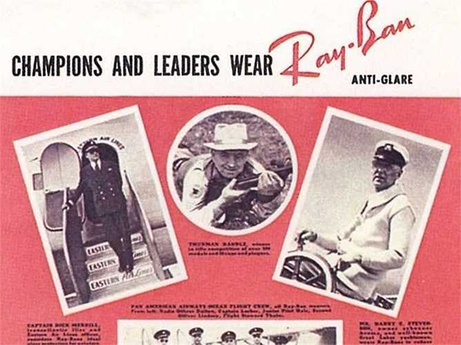 Có thể nói Ray-Ban Aviator là nhãn hiệu kính râm nổi tiếng nhất thế giới. Bausch & Lomb khai sinh ra phong cách này từ yêu cầu của Chuẩn tướng không quân Mỹ. Ông muốn nhà thiết kế chế ra một chiếc kính râm có khả năng hạn chế cảm giác buồn nôn và đau đầu cho những phi công bay ở độ cao lớn.