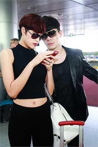 Nathan Lee và Phương Mai.