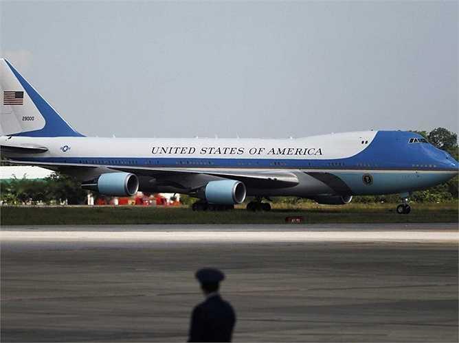 Mỹ sử dụng máy bay Boeing dành cho việc di chuyển của các quan chức Chính phủ