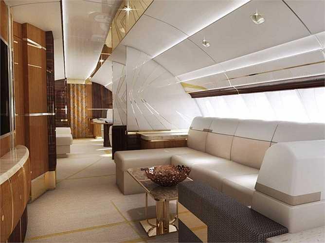 Phần đầu máy bay Boeing 747 - 8 có một phần khoang chứa lồi lên được ví như bướu của lạc đà và đây là những gì chứa đứng bên trong cái bướu đó