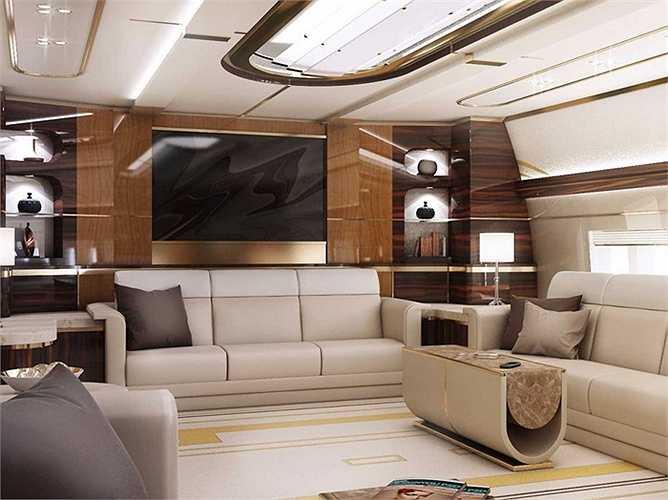 Phần nội thất bên trong được thiết kế riêng biệt