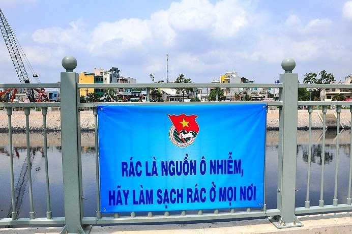 Dự án cũng kêu gọi người dân không vứt rác bừa bãi, gây ô nhiễm môi trường trên kênh Tân Hóa - Lò Gốm.