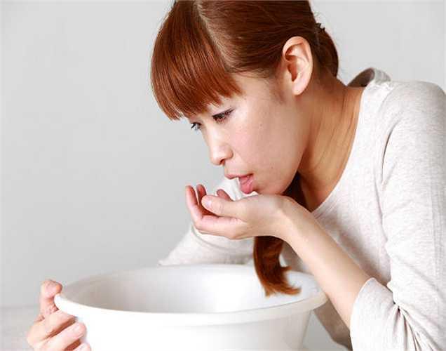 Thai nghén: xoài xanh là loại quả chua nên rất được các bà bầu yêu thích, ngoài ra nó còn giúp giảm tình trạng ốm nghén.