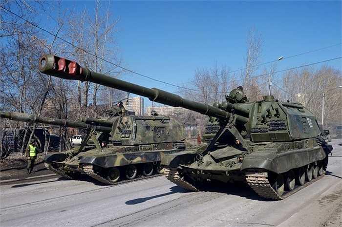 Hệ thống pháo tự hành của Nga
