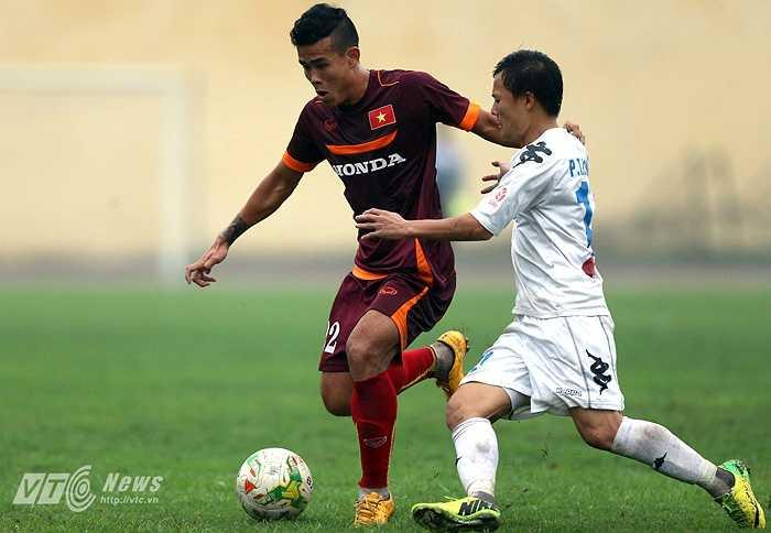 Hậu vệ cánh phải Thanh Hiền: Một trong những con bài quan trọng của HLV Miura nhưng cầu thủ Đồng Tháp đã gặp chấn thương nặng ngay trước thềm vòng loại U23 châu Á.
