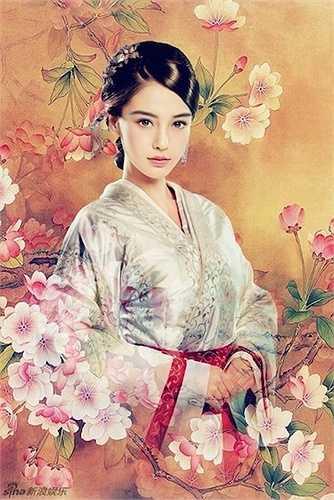 1. Angelababy trongVân Trung Ca:Vân Trung Ca là bộ phim truyền hình cổ trang đầu tay của Angelababy. Trong phim, người đẹp vào vai Hoắc Vân Ca - cô gái thông minh, lanh lợi.