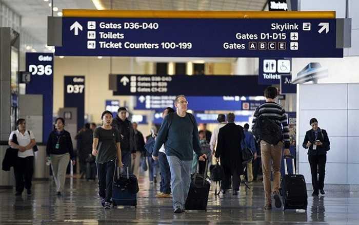9. Sân bay quốc tế Dallas-Fort Worth, Mỹ    Năm 2014, sân bay này phục vụ gần 64 triệu lượt khách. Ảnh: Dallasnews.