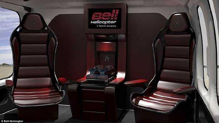 Bell 525 sử dụng hệ thống kiểm soát bay điều khiển bằng điện kết hợp máy tính tăng cường tính an toàn