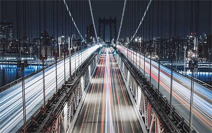 Đêm trên cầu Manhattan