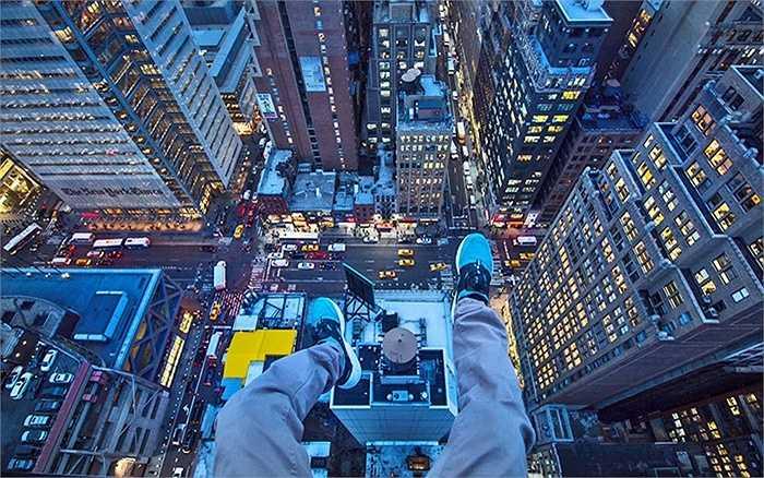 Ảnh chụp từ tầng 72 tại một tòa nhà cao tầng ở New York