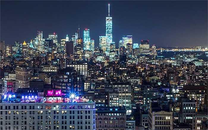 Những tòa nhà chọc trời không ngừng mọc lên ở New York