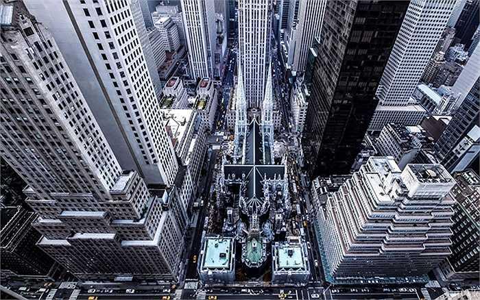 Nhìn New York ở những góc cao, mới lạ là điều lôi cuốn tay máy 18 tuổi