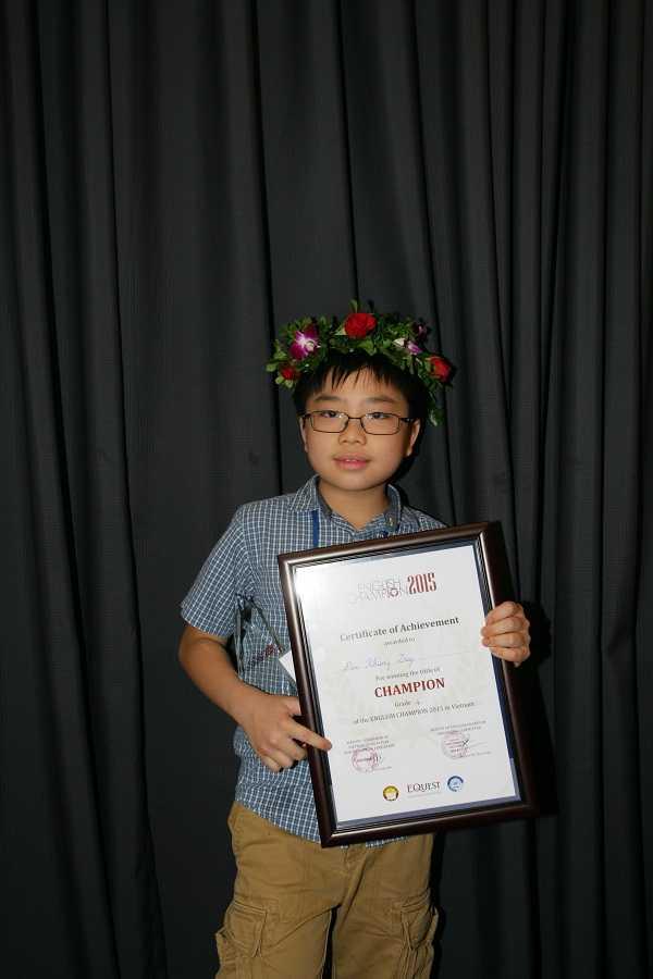 Giải nhất khối 4: Đào Khang Duy – Lớp 4B, Trường tiểu học Việt Nam-Singapore, Hà Nội