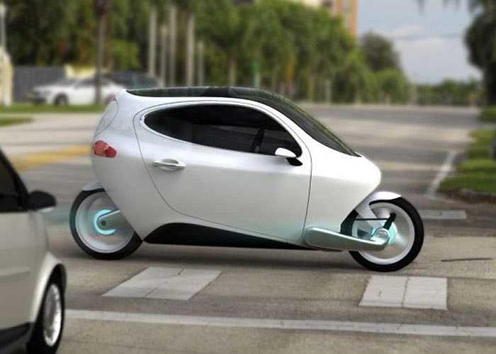 """Nhỏ gọn và chỉ có 2 bánh, LIT Motors C1 có thể coi là mẫu """"ôtô"""" siêu nhỏ lý tưởng cho giao thông đô thị"""