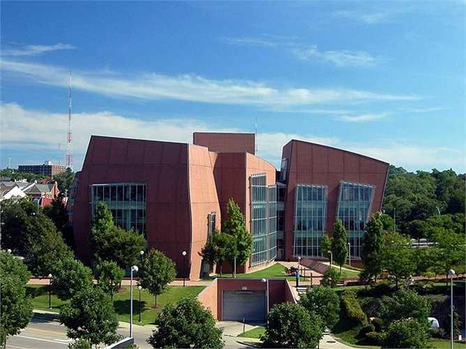 Một công trình của Frank Gehry dành cho Đại học Cincinnati, Mỹ