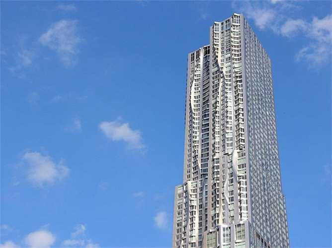Tòa nhà cao 76 tầng tại phố 8 Spruce, New York, Mỹ
