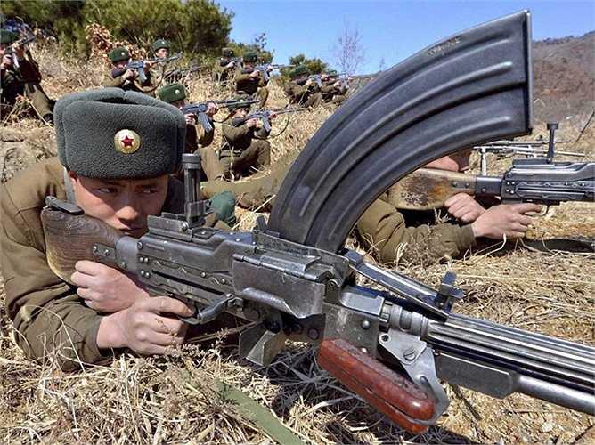 Lực lượng này được trang bị với những vũ khí đã lạc hậu từ thời Xô-viết và một số được Trung Quốc sản xuất