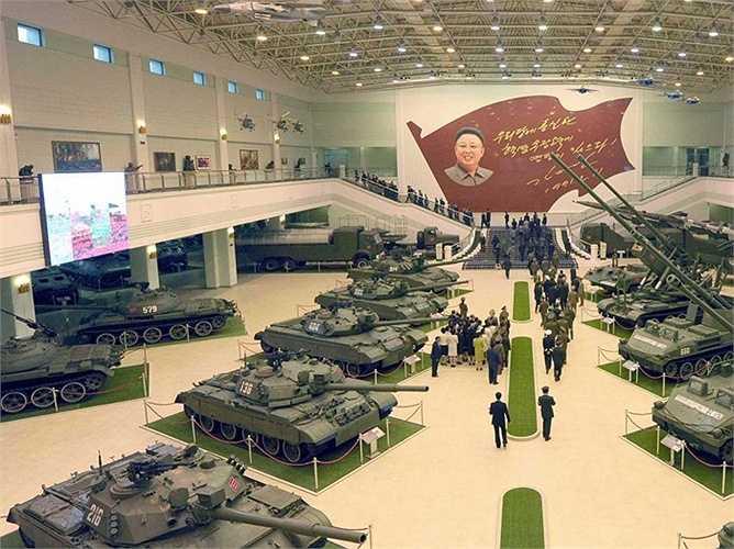 Mặc dù đã ra đời được khoảng 20 năm, xe tăng chiến đấu Pokpung-ho là thiết bị hiện đại nhất của lính bộ binh nước này