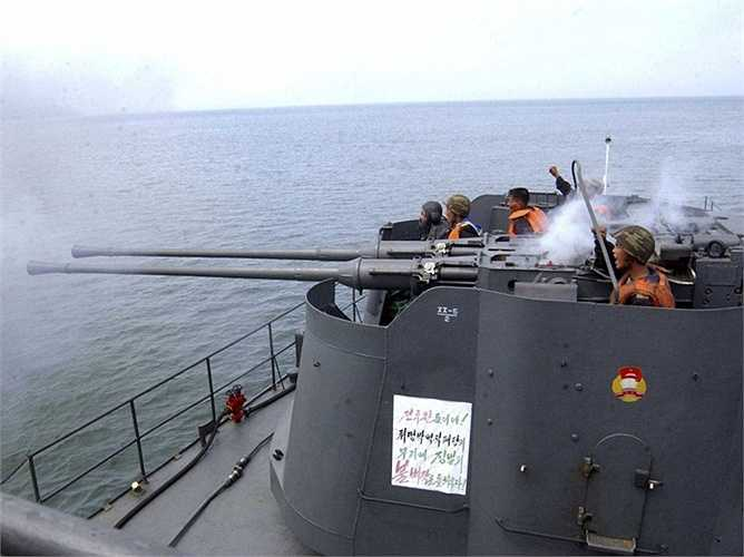 Còn Hải quân nước này ít được quan tâm hơn và đây chính nhánh nhỏ nhất của quân đội Triều Tiên
