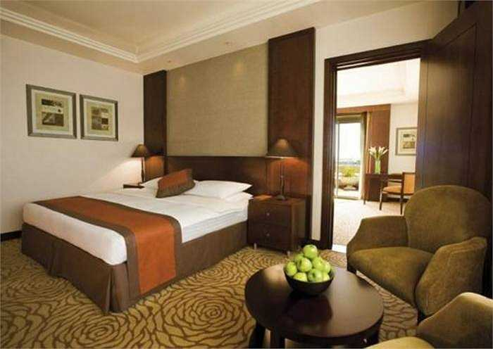 Mới đây, khách sạn này đã mở dịch vụ spa kiểu châu Âu với 12 phòng trị liệu, và 2 phòng tắm hơi Thổ Nhĩ Kỳ truyền thống. Năm ngoái, khách sạn sân bay này đứng ở vị trí thứ 2 ở Trung Đông