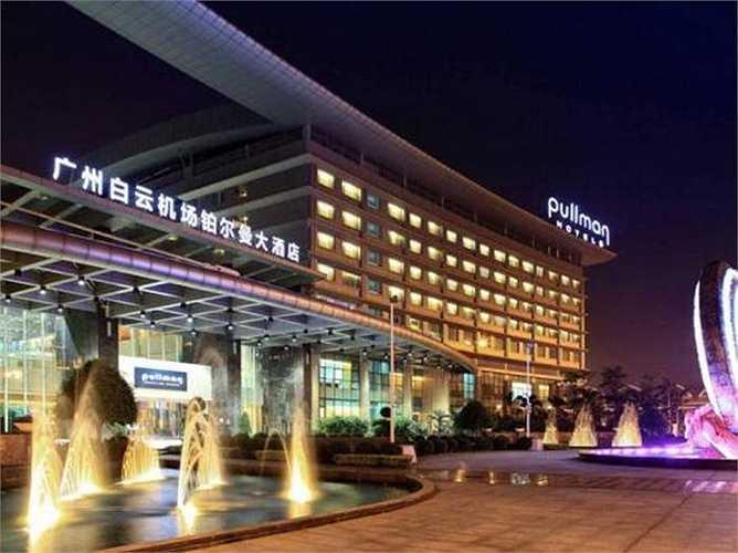 Khách sạn sân bay tốt nhất châu Á: Pullman Quảng Châu. Khách sạn này đứng thứ 4 trong số những khách sạn sân bay tốt nhất thế giới, đây là lần đầu tiên có tên trong top 10
