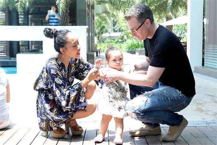 Từ khi lấy chồng, Đoan Trang chủ yếu tập trung thời gian cho gia đình.