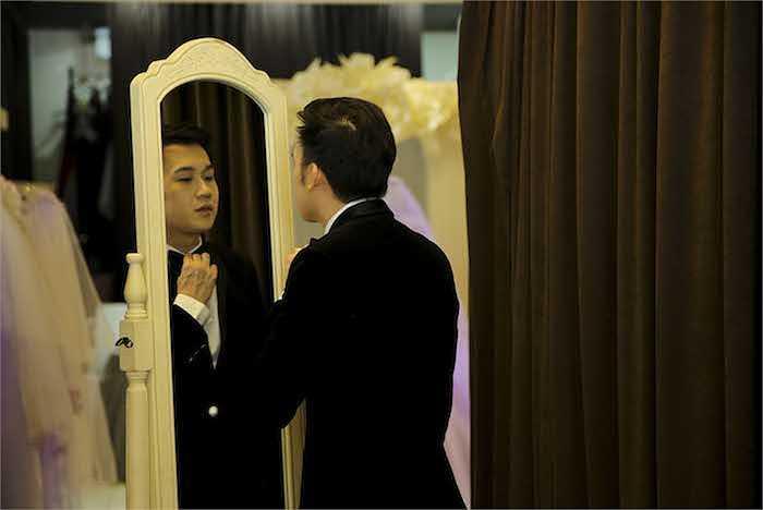 Vừa qua, những bức hình của Dương Triệu Vũ và Mai Hồ trong trang phục cô dâu chú rể gây xôn xao.