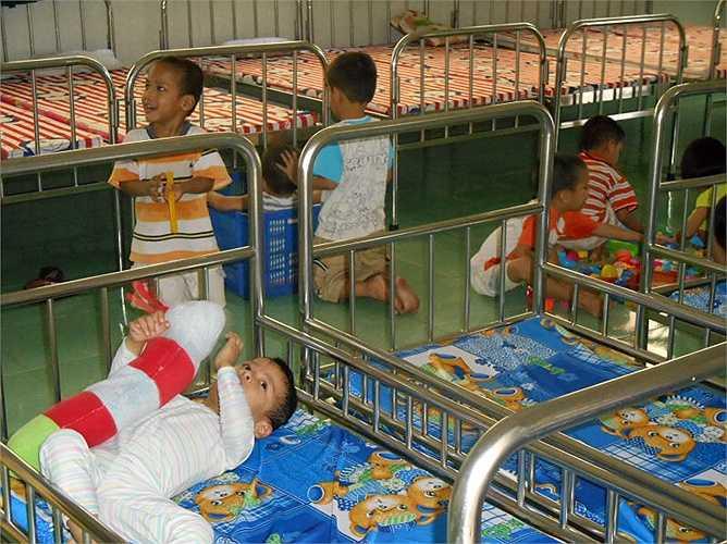 5 bảo mẫu tạm đình chỉ gồm Vũ Thị Quý (52 tuổi), Trần Thị Thu Trinh (44 tuổi), Nguyễn Thị Lan (46 tuổi), Nguyễn Thị Bảo Châu và Lưu Thị Hà.