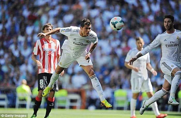 Dù là đối thủ khá khó chơi với Real Madrid nhưng Bilbao cũng không phải là ngoại lệ với Ronaldo. Họ bị cựu cầu thủ Man Utd chọc thủng lưới 14 lần trong 12 trận
