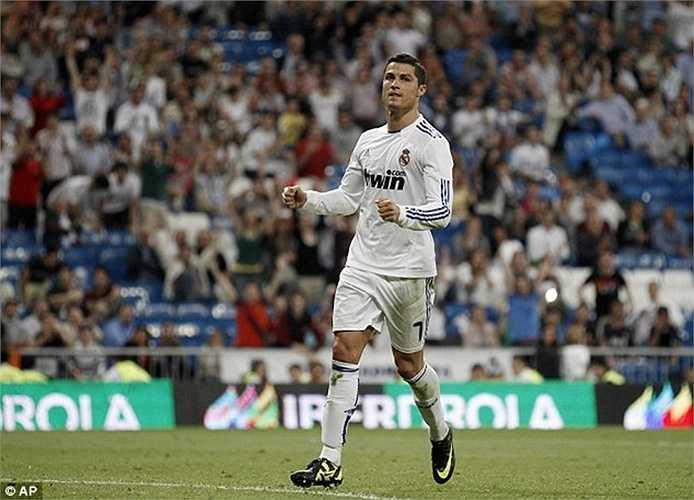 Với Getafe, con số thống kê là 15 bàn sau 9 trận