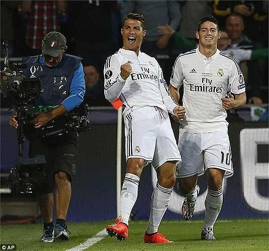 Tuy nhiên, đội sợ Ronaldo nhất phải là Sevilla. Đội bóng vùng Andalucia bị siêu sao người Bồ chọc thủng lưới tới 18 lần sau 12 trận