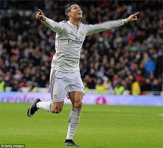 Celta Vigo thậm chí còn sợ ngáo ộp CR7 hơn. Trong 6 trận đội này gặp Ronaldo thì họ thủng lưới tới 12 lần