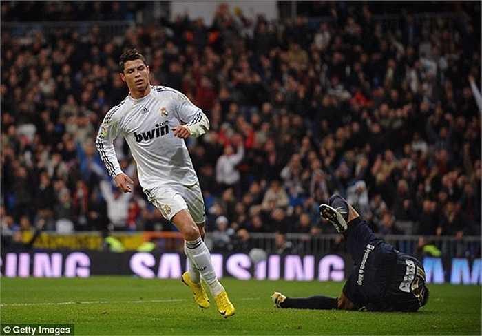Trước Malaga, Ronaldo duy trì hiệu suất 1 bàn/trận sau 13 lần đọ sức