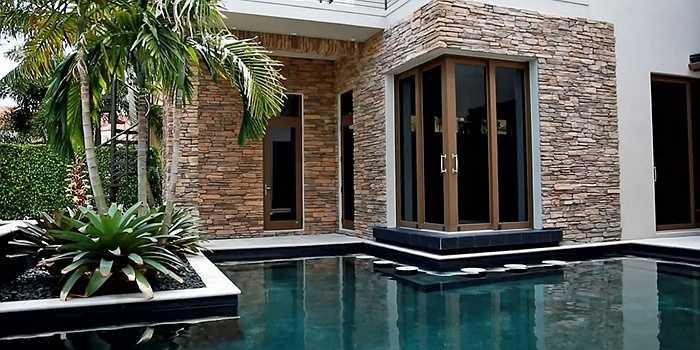 Ngôi nhà có bể bơi ngay trong nhà