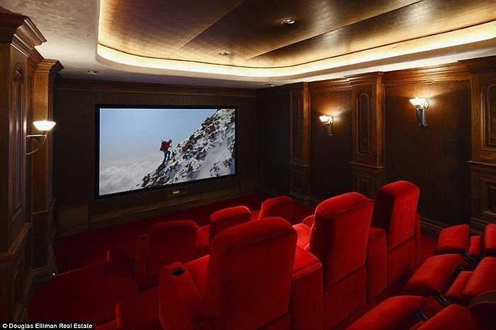 Xu hướng của các tỷ phú hiện là trang bị phòng chiếu phim tại gia và Dick Rothkopf không phải ngoại lệ. Bên cạnh đó, ông còn mở thêm phòng bi-a và sân bóng rổ