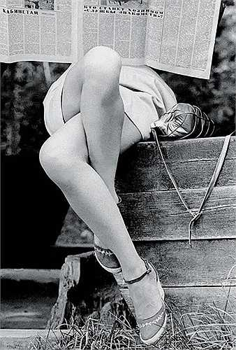 'Đọc báo', Boris Kaufman, 1970.