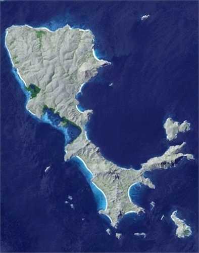 Đảo hoạt hình, Indonesia: Đảo Lesser Sunda được miêu tả là 'lấp lánh' như đá quý được bao bọc bởi màu xanh ngọc của Ấn Độ Dương và các biển Flores, Banda, Sawu, Timor