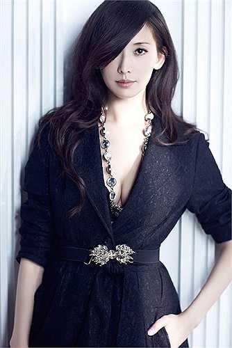 Lâm Chí Linh được mệnh danh là mỹ nhân gợi cảm nhất xứ Đài.