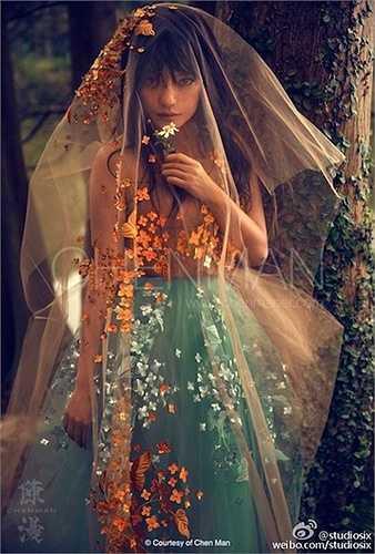 Công chúa bí ẩn đầy ma mị Triệu Vy.