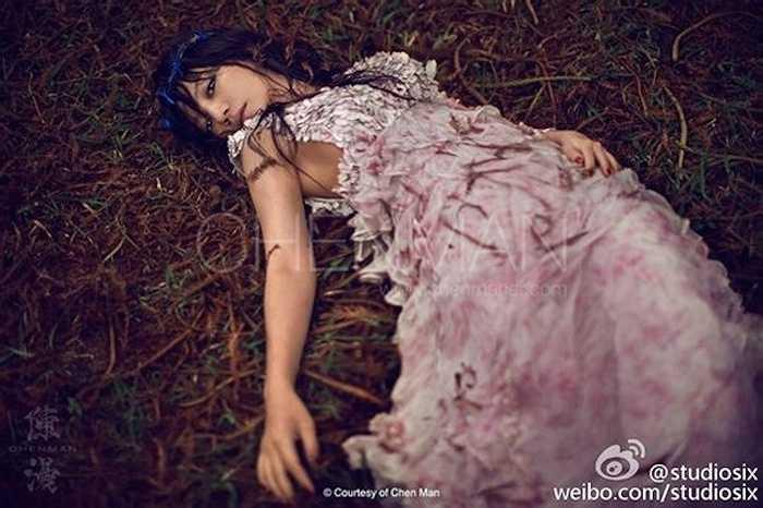 Triệu Vy chia sẻ, với cô nghệ thuật là con đường cả đời cô theo đuổi.