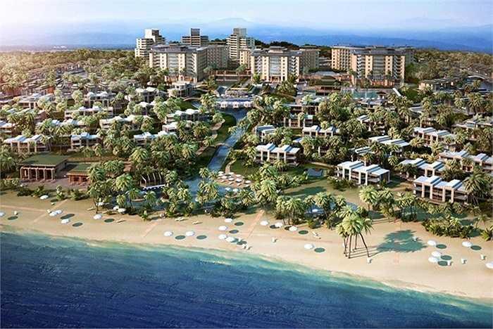Trong ảnh là Phối cảnh dự án khu nghỉ dưỡng ALMA tại Cam Ranh do tỷ phú Igal Ahouvi làm chủ đầu tư.