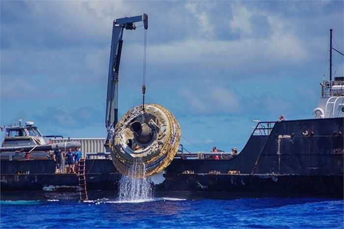 Chiếc dù rộng 30 m được triển khai khi LDSD trở về Trái Đất và rơi xuống Thái Bình Dương. Toàn bộ hoạt động thử nghiệm kéo dài ba giờ.
