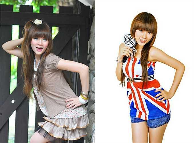 Ngoài vai trò ca sỹ, Thu Thủy còn là gương mặt người mẫu teen triển vọng được nhiều tạp chí săn đón.