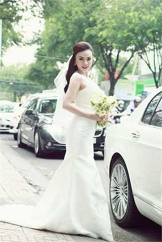 Đám cưới của Thu Thủy và bạn trai được tổ chức bí mật vào cuối năm 2014.