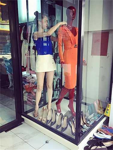 Người đẹp cho biết các shop thời trang của cô làm ăn rất phát đạt.