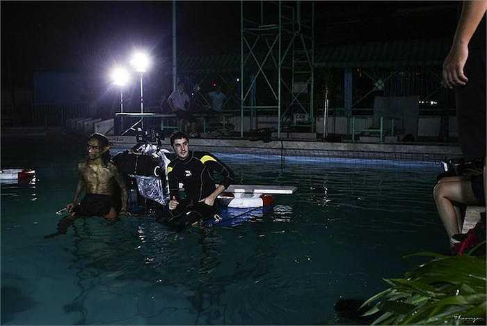 MV 'Rain' là sản phẩm hợp tác đặc biệt giữa Phạm Anh Khoa và đạo diễn phim 'Đường đua' Nguyễn Khắc Huy.