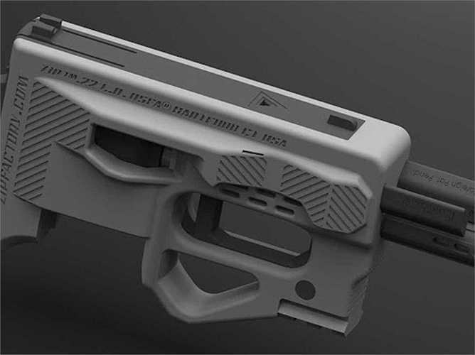 11. ZiP là súng lục kiểu mới có thiết kế bằng nhựa và có thêm chỗ chứa để mang thêm nhiều đạn hơn