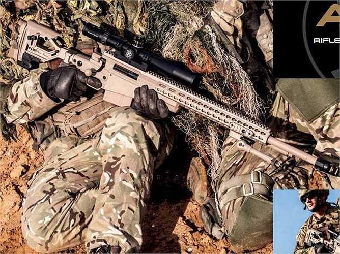 10. Accuracy International là một hãng sản xuất súng của Anh Quốc với khả năng bắn chuẩn xác hơn súng thông thường nhờ vào những thiết kế đặc biệt