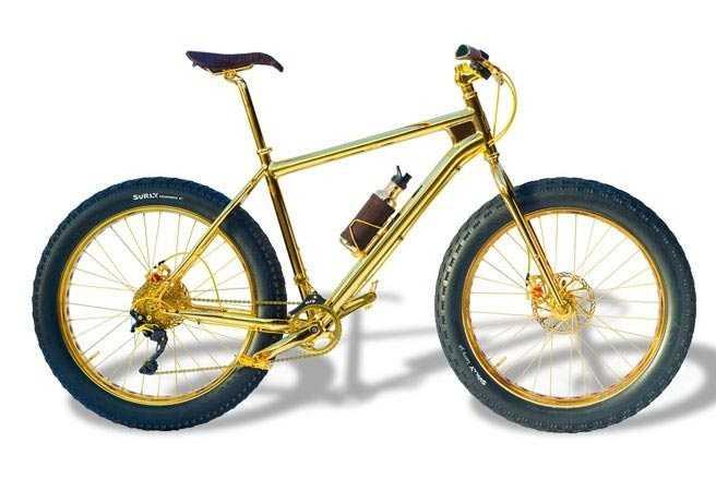 xe đạp vàng