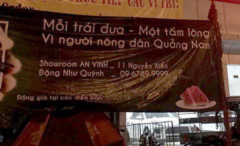 dưa hấu, nông dân, Quảng Nam, Hà Nội, thu mua, trợ giá, vùng lũ